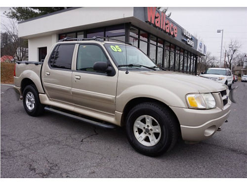 2005 FORD EXPLORER SportTrac 4WD S18292A 9995 WALLACE USED CARS BRISTOL 888-401-3618