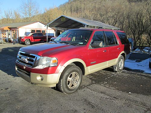 2007 FORD EXPEDITION Eddie Bauer 4x4 leather 0507 8999 VOLUNTEER MOTOR LLC Bristol TN