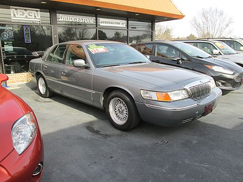 2000 MERCURY GRAN MARQUIS 46L V8 auto leather loaded 80k miles 5099 3995 HOUSER  SONS Bloun
