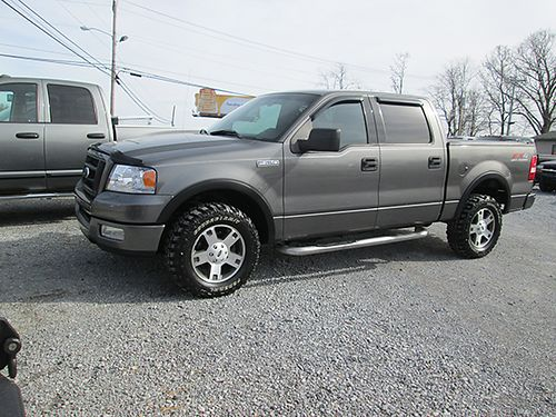 2004 FORD F150 FX4 4x4 4 dr 54L V8 auto 175k miles 0454 9500 TWIN D AUTO SALES Johnson City