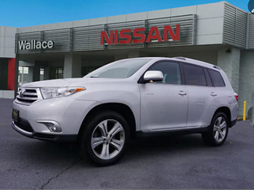 2012 TOYOTA HIGHLANDER Limited AWD moonroof 35L V6 auto loaded leather CD 5511P 17000 WALL