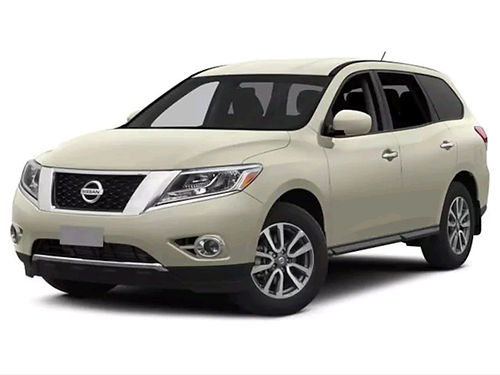 2015 NISSAN PATHFINDER SV SUV 3rd row 4 dr 35L auto CD pw pl N3690A 16146 WALLACE OF KING