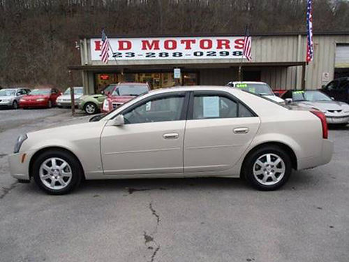 2007 CADILLAC CTS 36L auto sunroof leather all power 69000 miles 129626 8999 HD MOTORS KPT