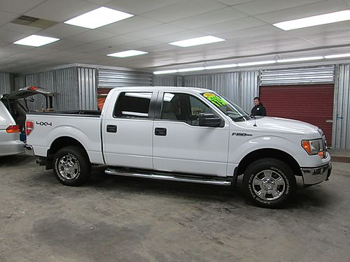 2010 FORD F150 Super Crew XLT 4x4 all power V8 tow pkg 96k miles like new F1010 17500 HOUSE