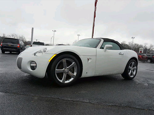 2008 PONTIAC convertible auto loaded leather CD pw pl low miles N3919A 9999 WALLACE OF KI