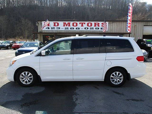2010 HONDA ODYSSEY EXL DVD sunroof 3rd row leather all power One Owner 090929 10999 HD M
