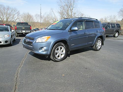 2009 TOYOTA RAV4 Limited 4x4 V6 heated leather sunroof alloys fully loaded 113k miles like ne