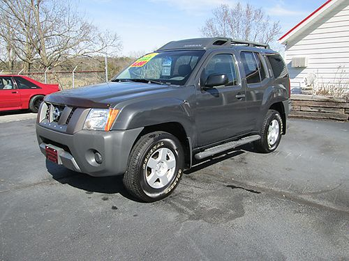 2007 NISSAN XTERRA 4x4 Off Road Pkg V6 auto all power roof rack new tires 140k miles comes wi