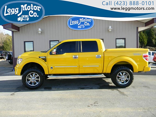 2014 FORD F150 Tonka Edition 4WD super crew 812 42599 LEGG MOTOR CO