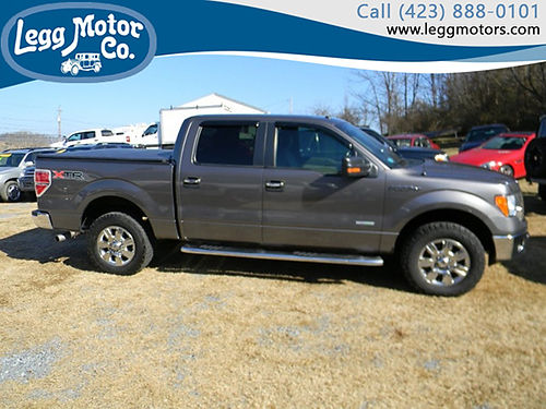 2011 FORD F150 XLT super crew 4WD 808 18900 LEGG MOTOR CO