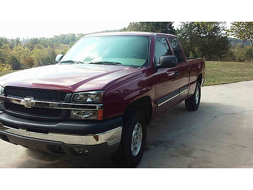 2004 CHEVROLET SILVERADO Z71 177K leather 4x4 garage kept well maintained EC 8995 423-217-717