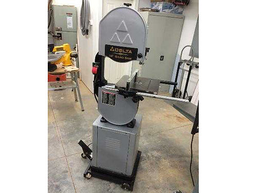 BANDSAW 14 Delta Platinum edition incl mobile base  fence EC 600 423-327-2016