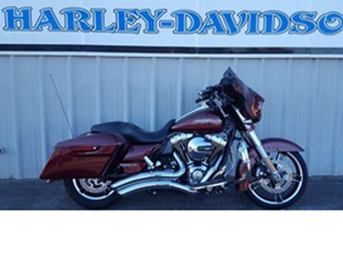 2014 HARLEY-DAVIDSON FLHXS Street Glide Special Stock 610409A Mysterious Red Sunglo 26223 mil