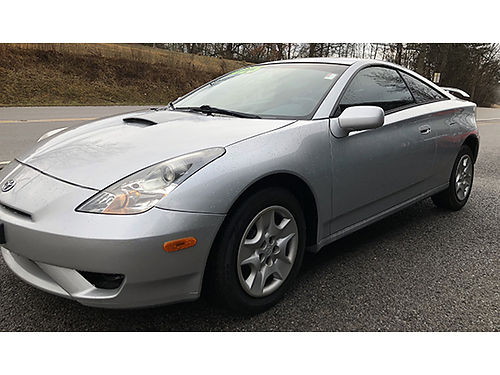 2003 TOYOTA CELICA silver 4cyl auto air pb tilt cruise 150K 070024A 4225 Bluff City Used