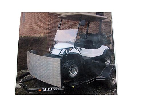 GOLF CART lifted wmag wheels hard top back seat windshield wmirrors headlights taillights br
