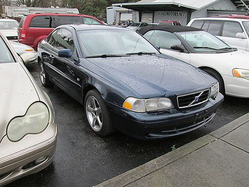 2001 VOLVO C70 blue auto gray leather all pwr 2dr air CD 215k miles 19145 3400 ALLEN HODG