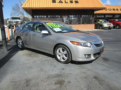 2010 ACURA TSX heated leather pwr sunroof premium system only 74k miles 2121 11550 HOUSER
