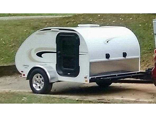 2016 LITTLE GUY teardrop camper 6W sleeps 2 galley area is located in back no stove or sink tw