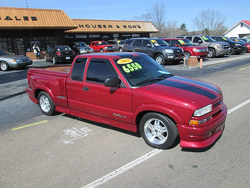 2002 CHEVY S10 ext cab Extreme 43 V6 3rd dr all power hard bed cover sharp CEX1 6550 HOUSE