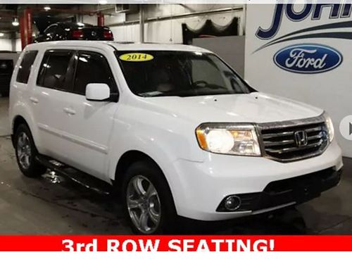 2014 HONDA PILOT EX-L 3 rd row 4 dr psunroof V6 auto loaded leather 180166A Was 19625 JOHN
