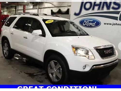 2010 GMC ACADIA SLT-1 4 dr V6 auto loaded leather 180234A Was 11824 JOHNSON CITY FORD
