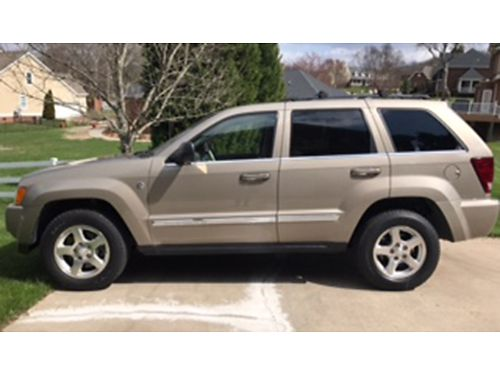 2005 JEEP GRAND CHEROKEE Limited beige 57L Hemi 4WD auto air tilt cruise loaded leather s