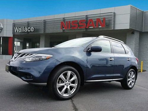 2014 NISSAN MURANO AWD LE SUV alloys 4dr pwr sunroofmoonroof 35L 6cyl loaded air all pwr C