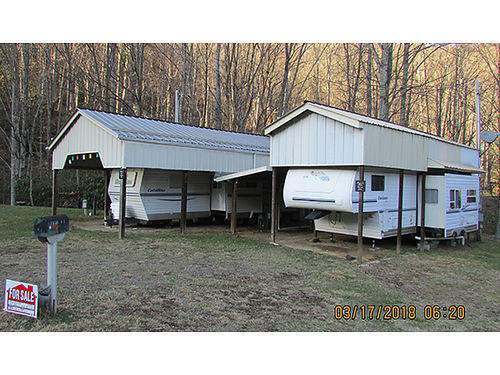 FAMILY CAMPING SITE 2 campers lights  water Cold Creek Campground Roan Mountain TN Lots 38-41 110