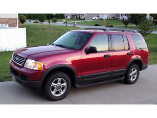 2003 FORD EXPLORER XLT 4x4 V6 leather cd trans less than 1 year old runs great 292k highway mi