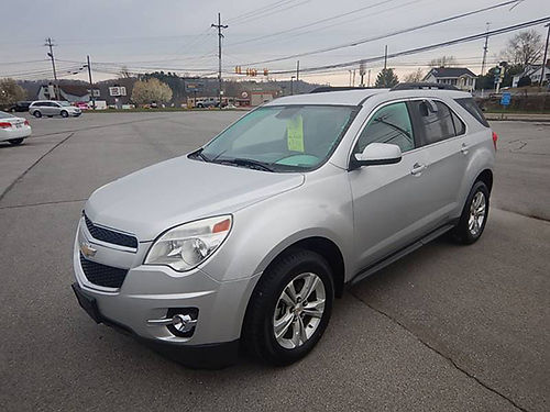 2012 CHEVY EQUINOX LT 12195 7900 CARLS AUTO 866-883-2302