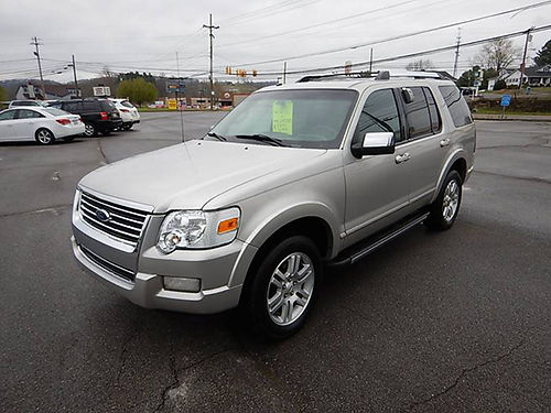 2007 FORD EXPLORER Limited 4x4 12205 9950 CARLS AUTO 866-883-2302