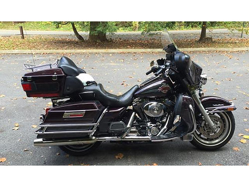 2005 HARLEY ULTRA Electra Glide factory stock black cherryblack pearl one owner 7900 423-725-46