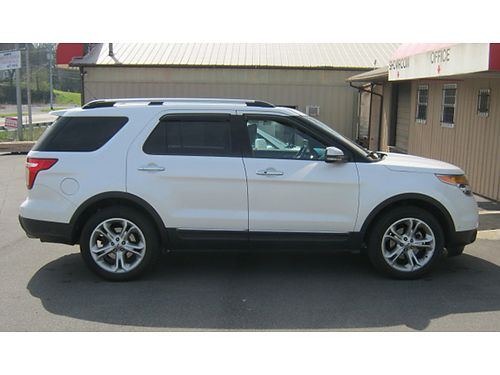 2011 FORD EXPLORER loaded leather sunroof REDUCED 15000 423-483-8931