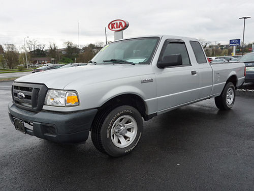 2007 FORD RANGER XLT scab 42k miles 982P 11995 WALLACE USED CARS BRISTOL 888-401-3618