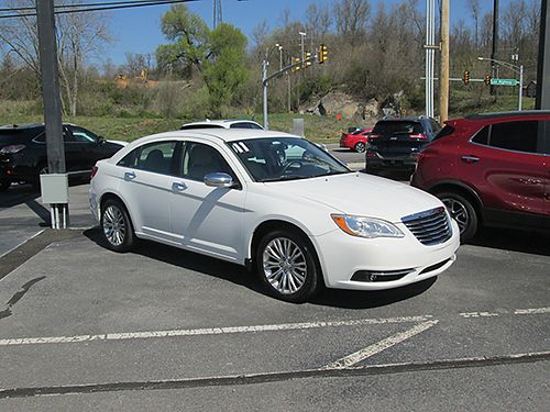 2011 CHRYSLER 200 LIMITED leather extra clean 3417 9995 VADLR - CRABTREE BUICK GMC Bristol VA 8