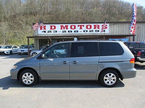 2002 HONDA ODYSSEY EX auto 3rd row all power Cash Special 025746 1999 HD MOTORS KPT TN