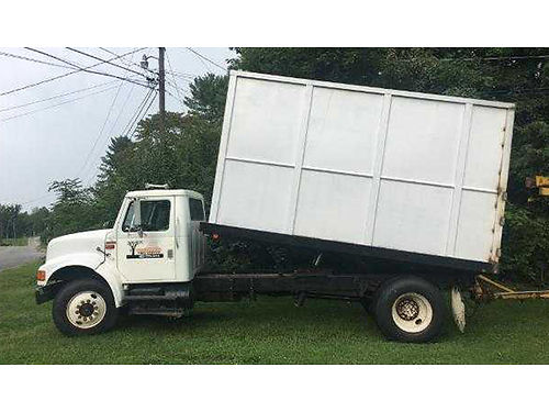 1995 INTL 4300 chip dump truck DT466 very reliable strong truck brand new tires VGC 16000 obo