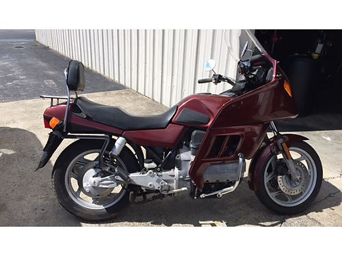 2 1985 BMWS rideable K100RT red complete and K100 pearl white 3500 for both 423-282-1814 423-