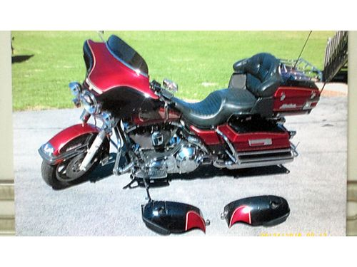 1995 HARLEY ELECTRA-GLIDE 30th Anniversary 59K miles Nice Bike Ready to Ride