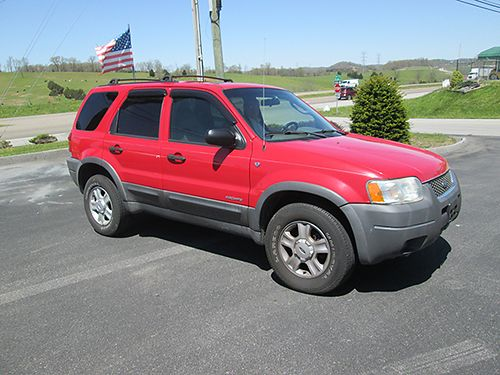 2001 FORD ESCAPE XLT V6 loaded leather sunroof 0129 Was 3995 Now 2995 MR Ds AUTOMOTIVE Piney