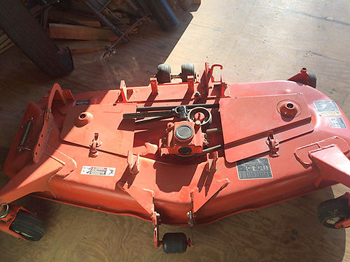 BELLY MOWER Kubota 60 deck belly mower runs on power take off fits 2410 used 3 times EC 2000 42