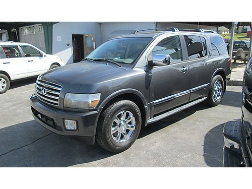 2006 INFINITI QX56 4WD power everything leather 8 cyl 157k miles 19565 7800 ALLEN HODGE MOTOR