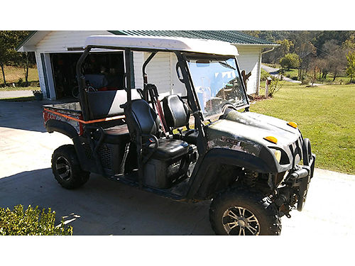 2009 BMX UTV side x side 4 seater 4x4 dumpbed 2700 423-446-8043 614-493-8628