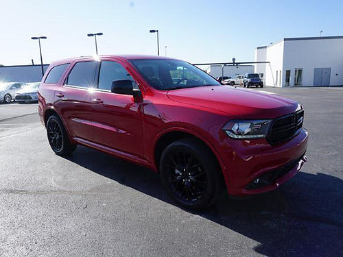 2016 DODGE DURANGO 4X4 black top package one owner 3983 27500 VADLR - CRABTREE BUICK GMC Bris
