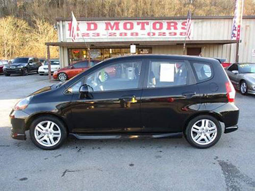 2007 HONDA FIT SPORT auto all pwr alloys Market Leader 040174 4999 HD MOTORS KPT TN