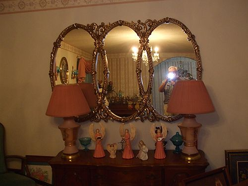 LAMP SET antique real nice 75 each 423-538-4195
