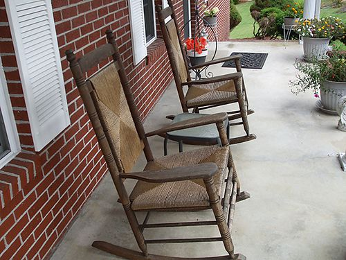 ROCKERS 2 Oak rocking chairs 75 each 423-538-4195