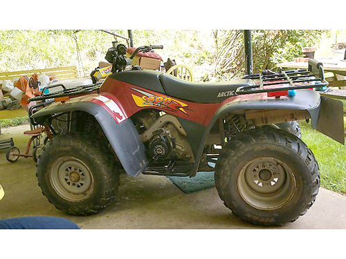 1998 ARCTIC CAT ATV 4x4 runs good guards racks hitch 2500 276-546-1025 before 9pm