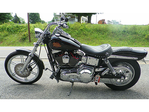 2001 HARLEY WIDE-GLIDE Vance  Hines exhaust 22522 miles 02008M 6250 Bluff City Used Cars 423-5