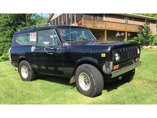 1978 SCOUT II 80 restored 4WD auto 345 engine 153K miles runs  drives great 7000 423-620-063